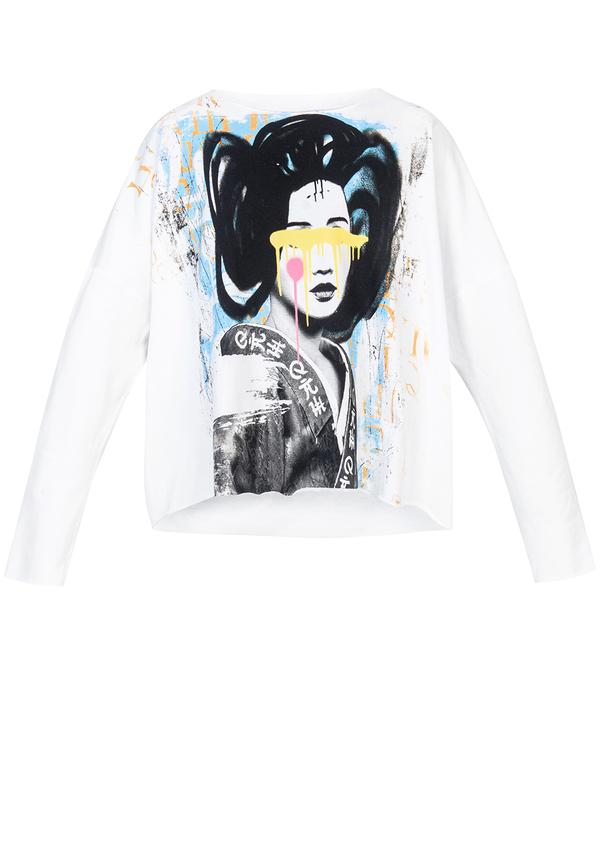 ORIENT GEISHA sweatshirt