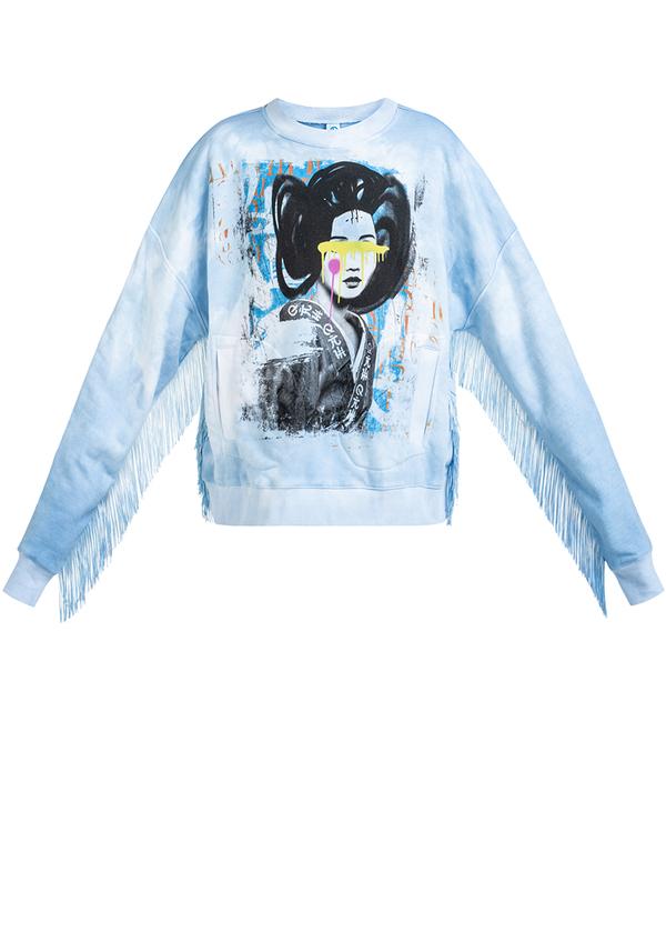 KIDS GEISHA FRINGE sweatshirt