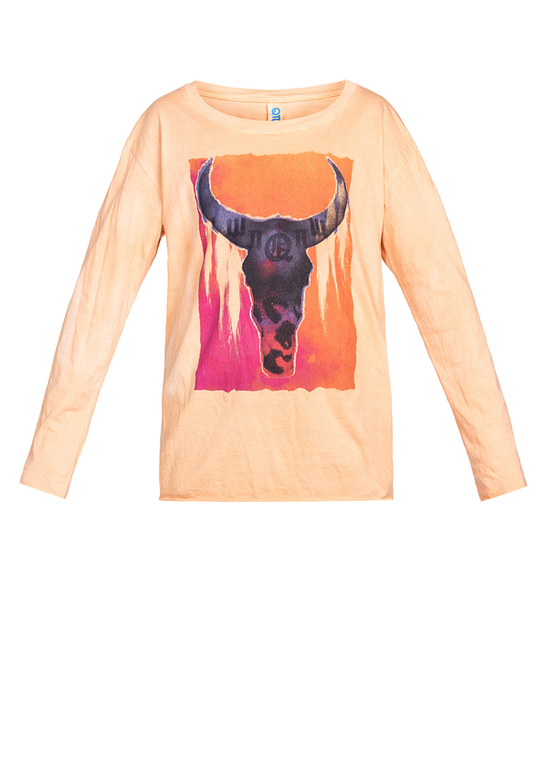 KIDS CRAZY BULL LONGSLEEVE t-shirt
