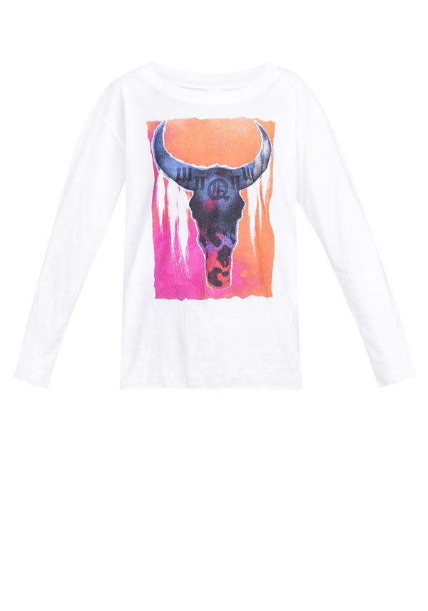 t-shirt KIDS CRAZY BULL LONGSLEEVE